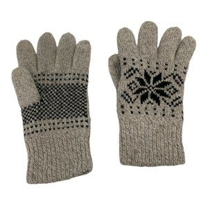 💜 5/$25 - Thinsulate tan knit fingered gloves